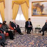 الرئيس الأسد يلتقي وزير خارجية الأرجنتين - 24.01.2011