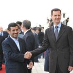الرئيس الأسد يستقبل الرئيس الإيراني محمود أحمدي نجاد - 25.02.2010