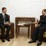 الرئيس الأسد يستقبل السيد برهم صالح نائب رئيس الوزراء العراقي - 11.07.2004