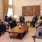 الرئيس الأسد يستقبل وزير خارجية بلغاريا - 10.04.2011