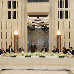 الرئيس الأسد يقيم مأدبة عشاء على شرف الرئيس ديمتري ميدفيديف - 10.05.2010