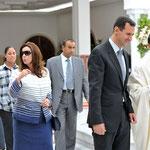 الرئيس الأسد يبدأ والسيدة عقيلته زيارة رسمية إلى تونس - 12.07.2010