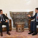 الرئيس الأسد يعقد جلستي مباحثات مع الرئيس ساركوزي بحضور وفد من الاتحاد الأوروبي وكبير مستشاري رئيس الوزراء التركي ثم عقد الرئيسان الأسد وساركوزي مؤتمراً صحفيا - 07.01.2009ً
