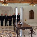أمام السيد الرئيس بشار الأسد الدكتور محمد الجليلاتي يؤدي اليمين الدستورية وزيرا للمالية - 16.04.2011