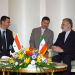 السيد الرئيس بشار الأسد في زيارة رسمية إلى إيران - 04.07.2004