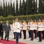 السيد الرئيس بشار الأسد يستقبل السيد عبد الله غل رئيس الجمهورية التركية - 16.05.2009