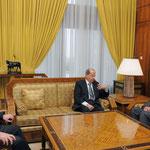 الرئيس الأسد يبحث مع عون الأوضاع في لبنان وجهود تشكيل الحكومة اللبنانية - 09.02.2011