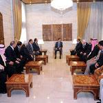 السيد الرئيس بشار الاسد يلتقى وفدا من أهالي درعا - 16.05.2011