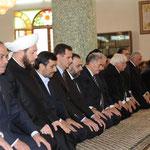 الرئيسان الأسد وأحمدي نجاد يشاركان في الاحتفال الديني بذكرى المولد النبوي الشريف - 25.02.2010