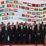 صورة تذكارية من حفل إفتتاح الدورة السادسة والثلاثين لمجلس وزراء خارجية الدول الإسلامية في دمشق - 23.05.2009