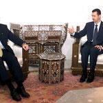 الرئيس الاسد يستقبل اللورد أرثر من بريطانيا - 07.07.2003