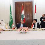 الرئيس اللبناني يقيم مأدبة غداء على شرف الرئيس الأسد وخادم الحرمين الشريفين - 30.07.2010