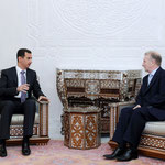 السيد الرئيس يستقبل الدكتور عامر حسني لطفي رئيس هيئة تخطيط الدولة - 19.01.2010