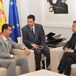 السيد الرئيس بشار الأسد يلتقي رئيس الوزراء الإسباني خوسيه لويس رودريغيز ثاباتيرو في مدريد - 05.07.2010