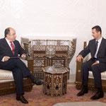 الرئيس الاسد يستقبل السيد من البرازيل- 07.07.2003