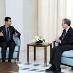 الرئيس الأسد يتقبل أوراق اعتماد السفير الأميركي - 27.01.2011