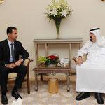 الرئيس الأسد وخادم الحرمين الشريفين يستكملان محادثاتهما في مقر إقامة الملك عبد الله - 30.07.2010