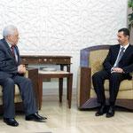 الرئيس الأسد يستقبل الرئيس الفلسطيني محمود عباس - 08.12.2004