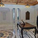 أمام السيد الرئيس بشار الأسد المهندس أحمد القادري يؤدي اليمين الدستورية وزيرا للزراعة و الإصلاح الزراعي - 12.02.2013