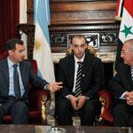 الرئيس الأسد يزور مبنى البرلمان الأرجنتيني - 03.07.2010