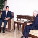الرئيس الاسد يستقبل السيد عمر كرامي - 29.07.2003