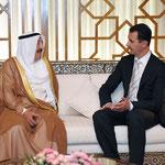 مراسم استقبال رسمية لسمو امير الكويت فى قصر الشعب - 16.05.2010