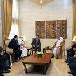السيد الرئيس بشار الأسد يستقبل وفدا من رجال الأعمال العرب - 24.05.2011