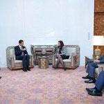 الرئيس الأسد يستقبل مستشارة الرئيسة الفلبينية - 19.01.2010