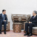 الرئيس الأسد يستقبل نائب رئيس مجلس الوزراء التركي - 28.02.2010