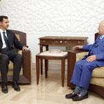 السيد الرئيس بشار الأسد يستقبل السيد عصام فارس نائب رئيس الوزراء اللبنانى - 04.07.2004