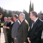 الرئيس الأسد يزور صرح الشهيد في جبل قاسيون بذكرى حرب تشرين التحريرية - 06.10.2012
