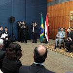 السيد الرئيس بشار الأسد يلتقي رئيس مجلس النواب البرازيلي - 01.07.2010