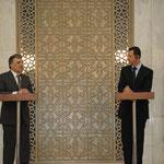 المؤتمر الصحفي المشترك للرئيسين الأسد وغل - 16.05.2009