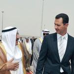 الرئيس الأسد يستقبل أمير الكويت سمو الشيخ صباح الأحمد الجابر الصباح في زيارة رسمية الى سورية - 16.05.2010