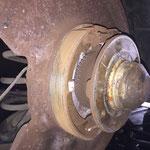 Wiellagers en remmen controle, reinigen en gangbaar maken
