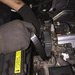 Distributie, waterpomp en rollers vernieuwen origineel Volvo