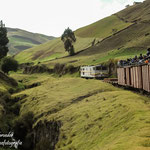 Die Bahnstrecke an der Teufelsnase in den ecuadorianischen Anden gilt als eine der aufregendsten der Welt.