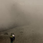 Bergsteiger am Chimborazo (6267 m)