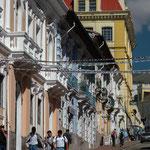 Historisches Zentrum Quitos, die Hauptstadt Ecuadors
