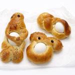 Paasbroodjes (met ei)