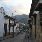Fachadas en San Gil