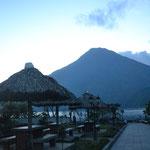 Nuestro primer sitio para dormir en Guatemala