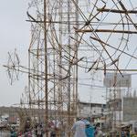 Torres para fuegos artificiales, Huanchaco