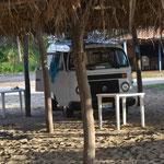 Estacionados en Maruahata.