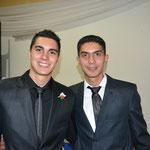Franco e Imanol, hermanos de Sabrina