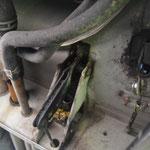 El arreglo que nos hicieron los mecánicos.