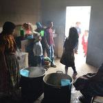 La cocina remodelada gracias al apoyo de Acción para el Desarrollo y la Igualdad