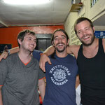 Los chicos - Lance, David y Roman -