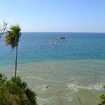 Vista desde el mirador en Punta Izopo (logramos llegar!!)