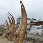 Caballitos de Totóra, usados para ir de pesca